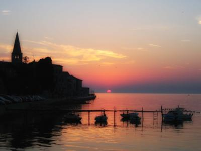 Porec sunset